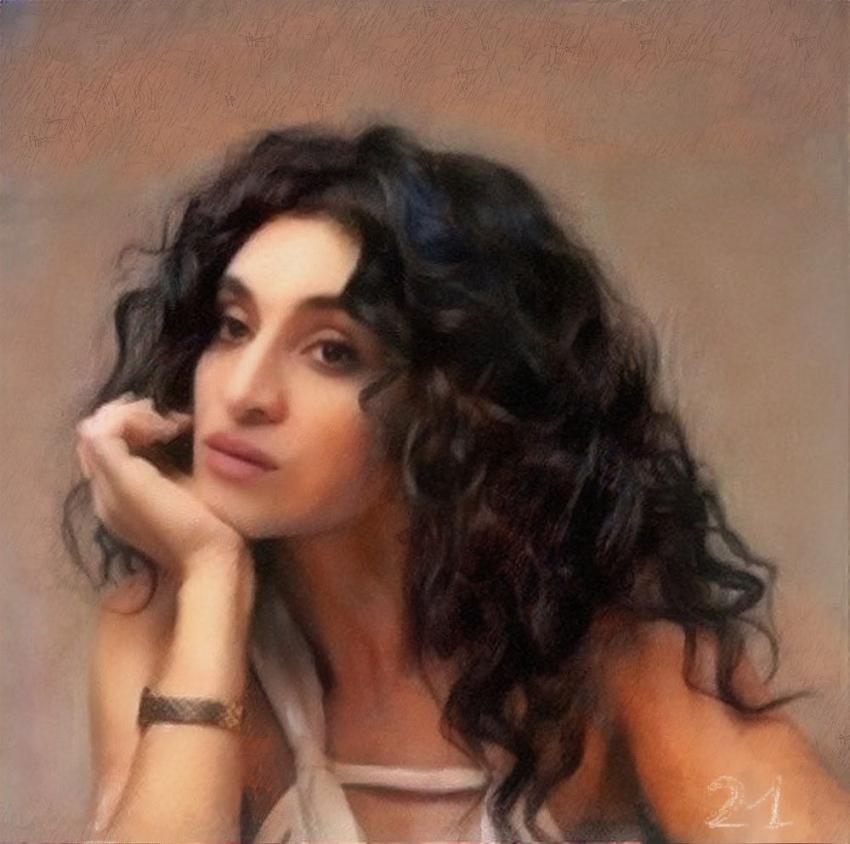 Camélia Jordana by baudet